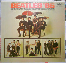 BEATLES, THE,  '65 promo poster FLAT -- 12 inch x 12 inch -- 2004 Capitol