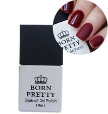 Matte Top Coat Gel Polish No Wipe Nail Art Soak Off UV Gel 10ml Born Pretty