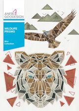 Anita Goodesign Embroidery Machine Design CD WILDLIFE PRISMS - NEW