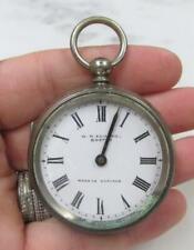 ~ Made in England ~ 8-D603 Vintage W. H. Edmand Pocket Watch 44mm