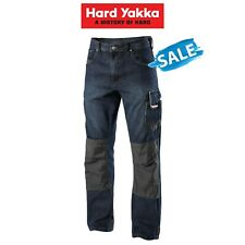 SALE! Hard Yakka Legends Denim Work Jeans Cargo Pants Heavy Duty Tradie Y03900