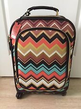 NWT Missoni for Target Carry-On Spinner Upright Bag Luggage Wheels Roller RARE