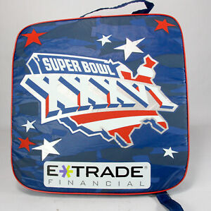 Super Bowl XXXVI Stadium Seat Cushion, Tom Bradys first Bowl with Extras