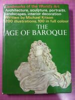 AGE OF THE BAROQUE HB BOOK Michael Kitson Landmarks of the World's Art HAMLYN