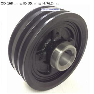 Crankshaft Pulley for Mitsubishi Canter FE637 FE639 4D34 4d33 Harmonic Balancer