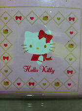 Red Bow Hello Kitty Pink Shower Curtain with 12 curtain Ring by Sanrio
