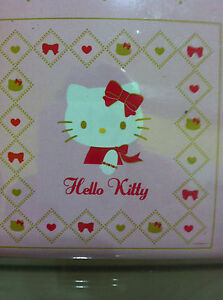 Shower Curtain Hello Kitty Pink Color Red Bow with 12 curtain Rings by Sanrio