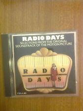 COLONNA SONORA -  RADIO DAYS - CD