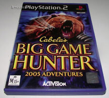 Cabela's Big Game Hunter 2005 Adventure PS2 PAL *Complete*
