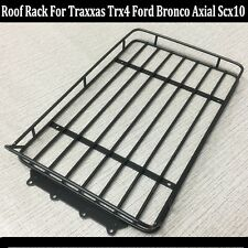 Metal Roof Luggage Rack Bracket For 1/10 Traxxas Trx4 Ford Bronco Axial SCX10 RC