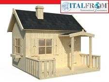 Wooden play house garden wendy house kids outdoor cottage kids ItalfromB3