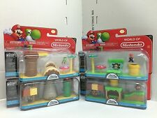 *Nintendo Super Mario Bros U Micro Land Regular Full Collection (4 pks) x 2 lot