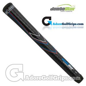 "JumboMax JMX UltraLite Series Jumbo (X-SMALL +1/8"") Grips - Black / Blue x 1"