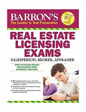 Barron's Real Estate Licensing Exams 10th Edition (Barron's Rea... Free Shipping