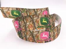 1-100 Yard 1'' 25MM 3D Printed Grosgrain pattern Ribbon Hair Bow Sewing Crafts