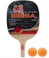 Butterfly BIRIBA31 Penhold  Blade,Paddle Table Tennis,Ping Pong Racket Free Ball