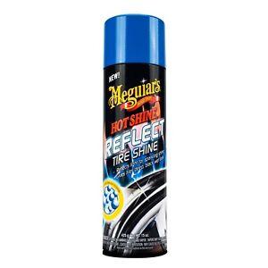 Meguiar's Hot Shine REFLECT TIRE SHINE COATING Deep Black Wet Look HQ Protectant