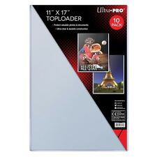 "Ultra Pro TopLoader, 11"" x 17"" Inch, For Photo Posters and Collectibles, 10 Pack"