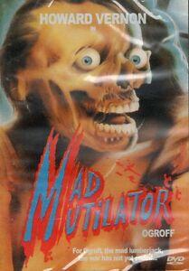 Ogroff: Mad Mutilator DVD Cover B Videonomicon N.G. Mount 1983 S.O.V. Ltd Ed