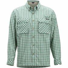 ExOfficio Women/'s Kizmet Long Sleeve Button Front Shirt Malbec M Medium NWT