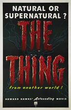 The Thing from another world Horror movie poster print  #122