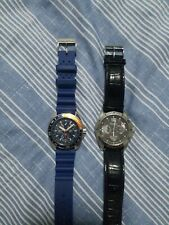 2 watch one nautica and  itizen mens watch used