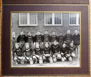 Football Team Photograph 1928 Greensburg, PA High School, County Champions- 8x10