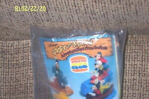 GOOFY AND MAX BURGER KING KIDS CLUB TOY WATER SKIING NEW IN BAG