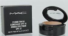 MAC Studio Finish SPF 35 Concealer - NC35 7g  .24 oz. New Boxed