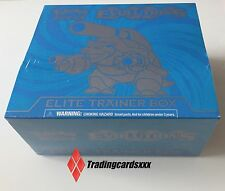 ♦Pokémon♦ Coffret ANGLAIS : Elite Trainer Box XY Mega Blastoise (Tortank)