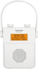 Technisat Digitradio 30 Weiss, Badradio Duschradio UKW DAB+ Radio Bluetooth NEU