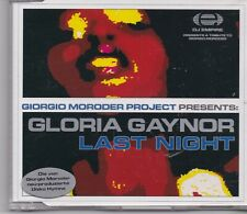 Gloria Gaynor-Last Night cd maxi single 6 tracks