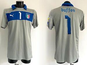 Buffon Italia maglia prepar World Cup Qual 2014 match worn issued shirt JUVENTUS