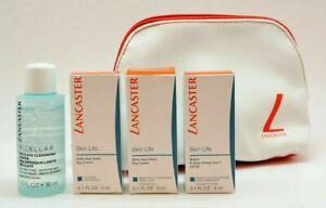 Lancaster Skin Life Micellar Primer Day Cream Eye Cream Travel Size Gift Set