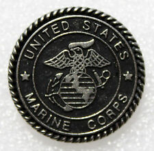 Biker us marines corps des Marines army usa militaire bouton-poussoir Bouton snap métal