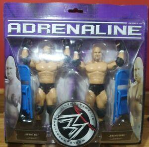 WWE Adrenaline Series 21 Jesse & Jake wrestling figures Jakks
