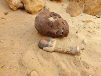Rare Antique Ancient Egyptian Ushabti Servant Minions cook clean Grave 2480 BC