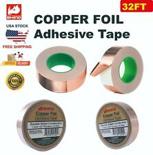 Rhino Copper Foil Adhesive Tape Double Sided Conductive 2x16ft508mm5m