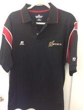 Medium Russell Athletic San Diego State Aztecs Dri Fit polo shirt football NCAA