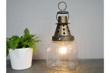 Linterna Lámpara de Mesa de estilo industrial Bombilla Decoración | con batería sin cables