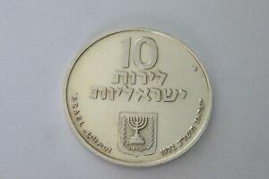 10 Lirot 1972 Argent