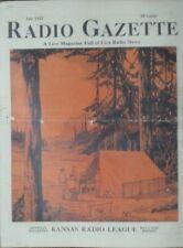Antique Radio Gazette Publication 1922 Vol 1 Issue 1