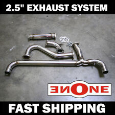 Mookeeh Fiero GT V6 Fully Polished SuS304 Stainless Steel Exhaust System NEW!