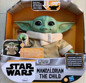 Mandalorian The Child Baby Yoda Animatronic W/Necklace