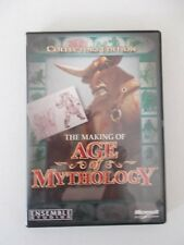 - THE MAKING OF AGE OF MYTHOLOGY [PC CD-ROM] BRAND NEW [NOW $49.75]