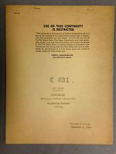 ORIGINAL 1954 TOM & JERRY PET PEEVE CARTOON DIALOGUE CUTTING CONTINUITY SCRIPT