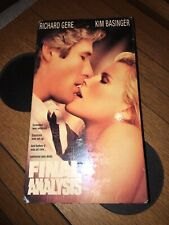 Final Analysis Richard Gere Kim Basinger Murder Suspense VHS 1997 Sealed Tape