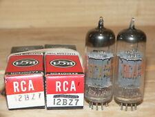 2 NIB RCA 12BZ7 Tubes (USA) pair #1
