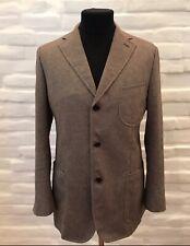 ISAIA Napoli Men's Sport Blazer Jacket Cotton/Linen Size 52!