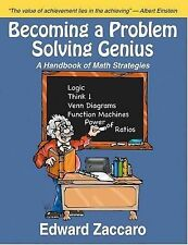 NEW Becoming a Problem Solving Genius: A Handbook of Math Strategies